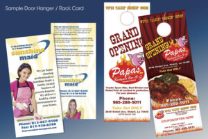 Door Hanger/ Rack Card